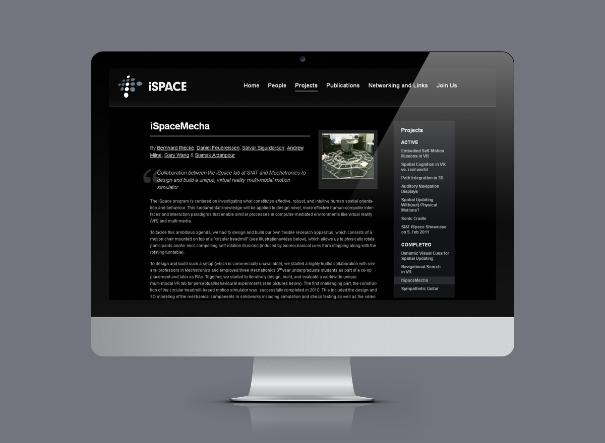 iSpace Website
